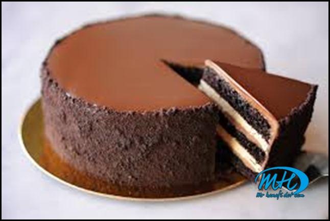 kek coklat nyaman