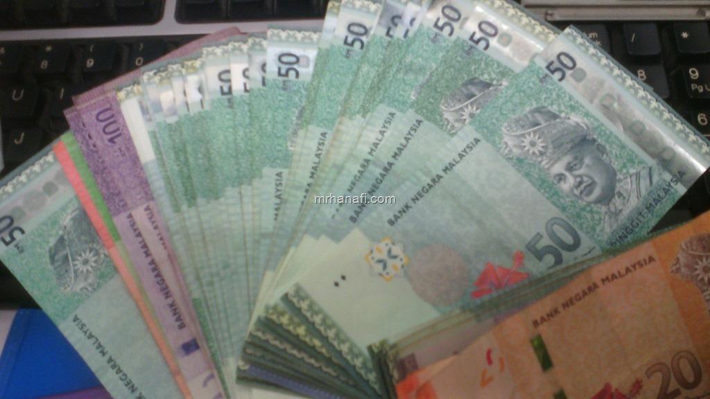 duit banyak masuk
