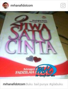 2 jiwa satu cinta 229x300 - Ulasan Buku : 2 Jiwa Satu Cinta
